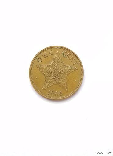 Багамские острова / 1 cent / 1966 год