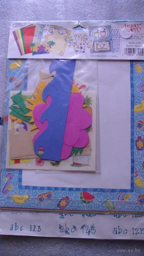 Детский дизайнерский набор для оформления фотографий. распродажа
