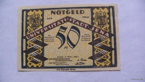 Германия Нотгельд 50 пфенинг 1921г No5 распродажа