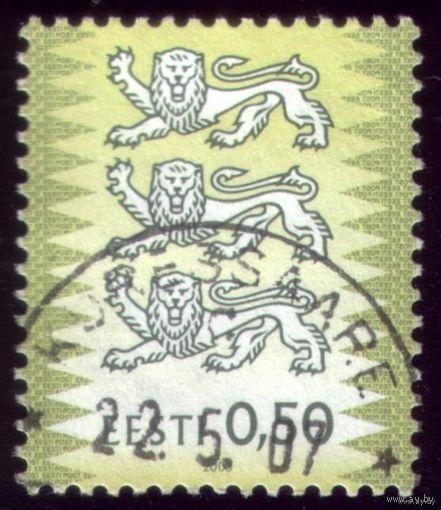 1 марка 2003 год Эстония Стандарт