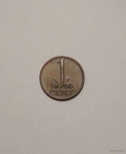 Нидерланды / 1 cent / 1966 год