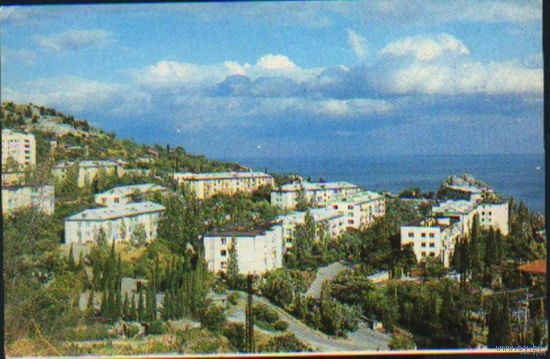 Крым. Гурзуф.Вид на новую часть города