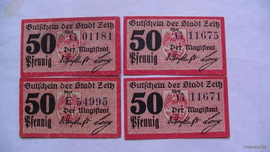 Германия Нотгельд 50 пфенинг  No7 распродажа