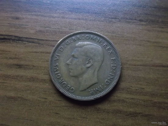 Великобритания 1/2 пенни 1942