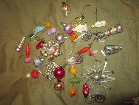 Игрушки на мини-елку . Набор Малютка СССР