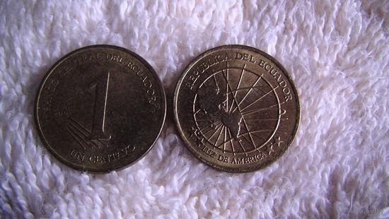 Эквадор 1 сентавос 2000г. распродажа