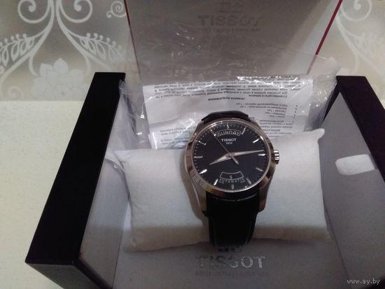Швейцарские часы Tissot Automatic Couturier Оригинал коробка и документы