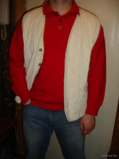 Безрукавка жилетка мужская стильная стёганая фирменная Германия р-р 50