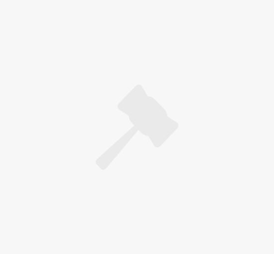Бронзовая Люстра на 6 рожков с Абажурами Середина ХХ века, Германия
