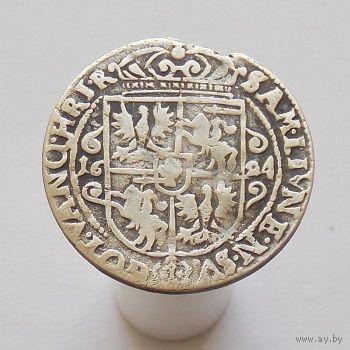 1/4 талера (орт) 1624 Сигизмунд III Ваза