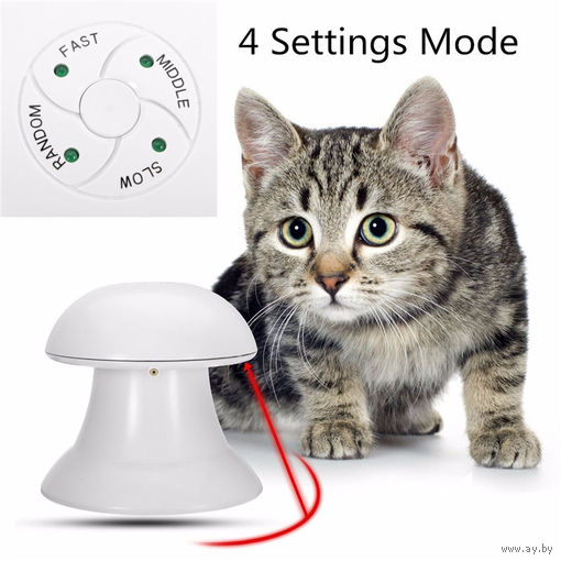 Игрушка для кошки и собаки, вращающийся лазерный свет, веселые игры для кошек и собак.