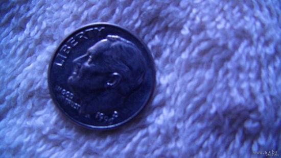 США 10 центов 1996D   распродажа