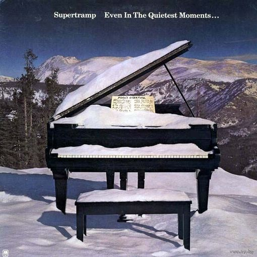 0415. Supertramp. Even In The Quietest Moments. 1977. A&M (DE) = 16$