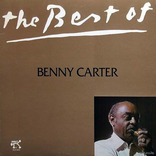 0454. Benny Carter. The Best of. 1980, Pablo (US) = 18$