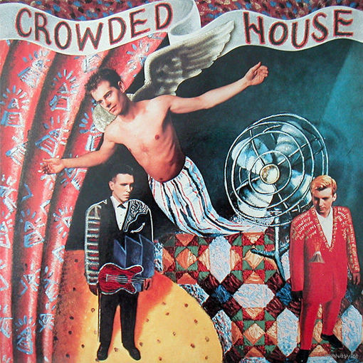 Crowded House - Crowded House - LP - 1986