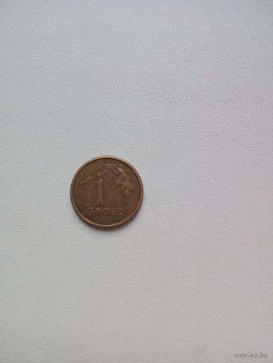1 грош 2005г. Польша