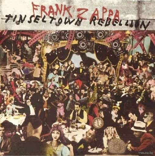 Frank Zappa - Tinseltown Rebellion - 2LP - 1981