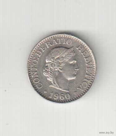 10 раппен 1960 года Швейцарии