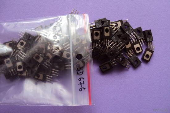 Транзистор BD676 Darlington PNP (Ucb max=45V; Uce max=45V; Ic max=4A; Pc max=40W; Ft max=1MHz; Hfe>750)