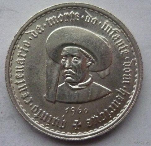 Португалия. 5$00 1960г. Серебро.
