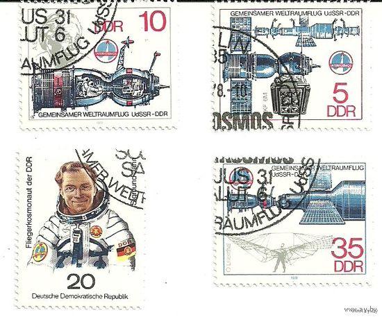 Совместный космический полет СССР - ГДР 1978 Германия