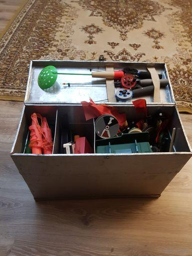 Ящик для рыбалки СССР
