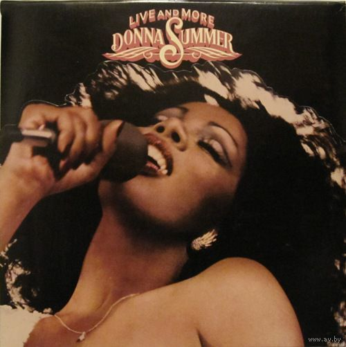 2LP Donna Summer - Live And More (1978) Disco
