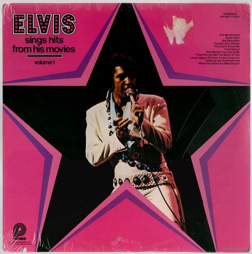 LP Elvis Presley 'Sings Hits from His Movies, Vol. I' (запячатаны)