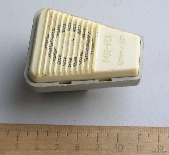Микрофон МД-201 1983 год