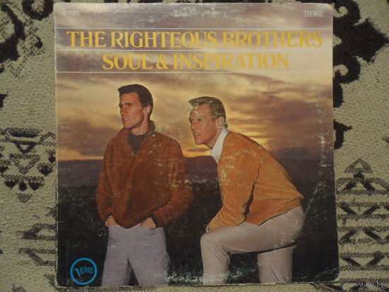 Конверт пластинки The Righteous Brothers. Soul & Inspiration