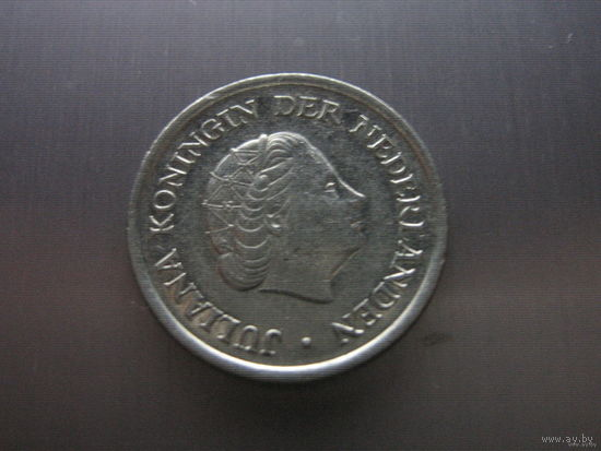 Нидерланды 25 центов 1979