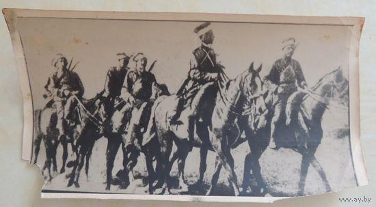 """Фото """"Отряд легионеров-карателей"""", Жабинка, 1918 г."""