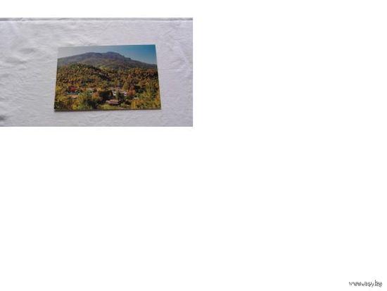Почтовая карточка германии. немецкая деревня в горах.  распродажа