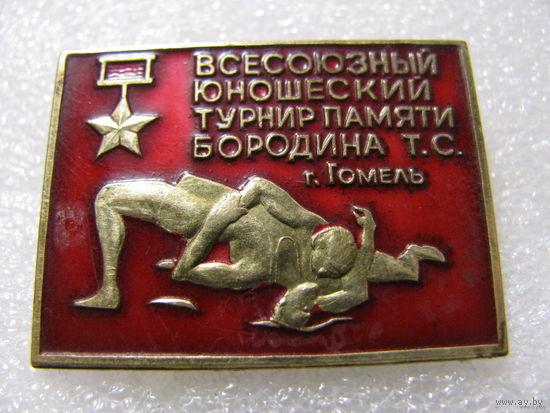 Знак. Всесоюзный юношеский турнир памяти Бородина Т.С. г.Гомель. тяжёлый