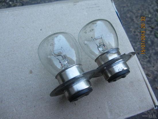 2 лампочки