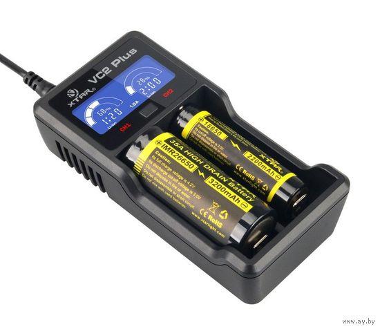 Универсальное Зарядное Устройство XTAR MASTER VC2 PLUS 18650