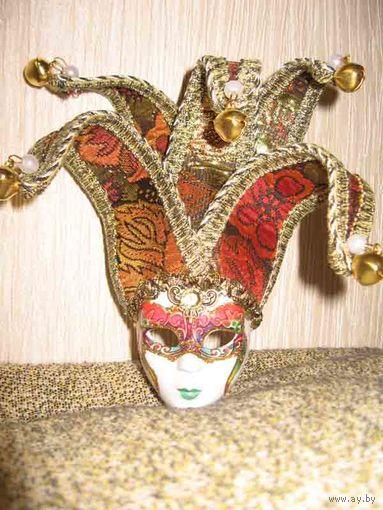 """Сувенирная Венецианская маска, оригинальная""""Венеция"""