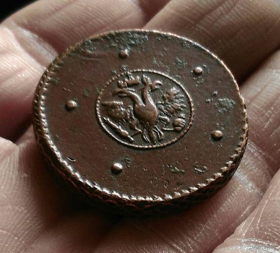5 копеек 1723 г Редкий крестовик редчайшего сохрана !!! С рубля аукцион