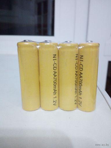 Аккумулятор никилиево-кадмиевый цена за 4 шт