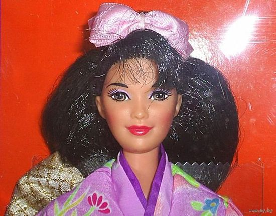 Кукла Барби/Barbie Japanese Barbie фирмы Mattel, 1995 г, коллекционное издание Dolls of the World Collection.