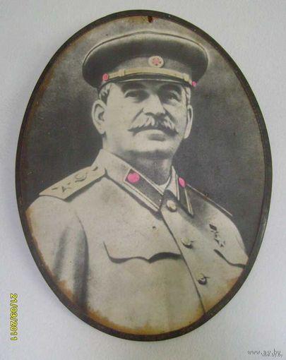И.В Сталин. Фотопортрет.