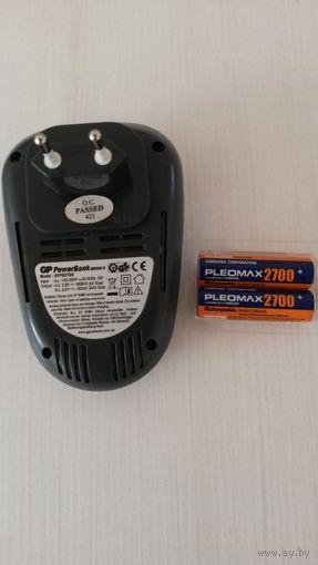 Зарядное для аккумуляторных батареек