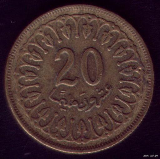 20 миллим 1983 год Тунис