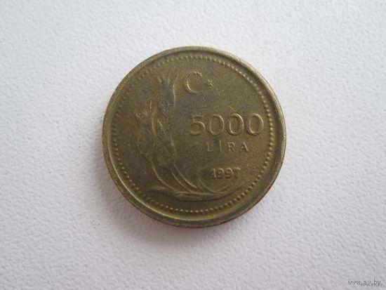 5000 Лир 1997 (Турция)