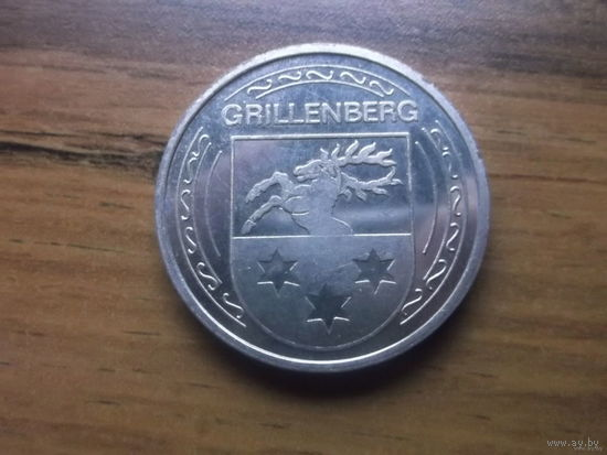 Настольная медаль Город Grillenberg 1150 лет