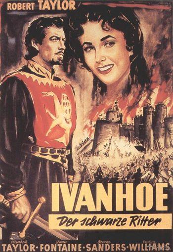 Айвенго/Ivanhoe (Роберт Тейлор, Элизабет Тейлор) DVD9