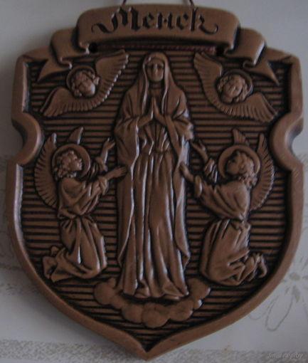 Гербы городов Беларуси (керамика)
