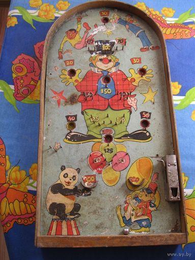 Детская настольная игра. СССР, 70-е годы прошлого столетия.