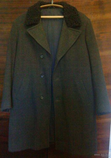 Пальто мужское 60-70-е г.г., размер 50