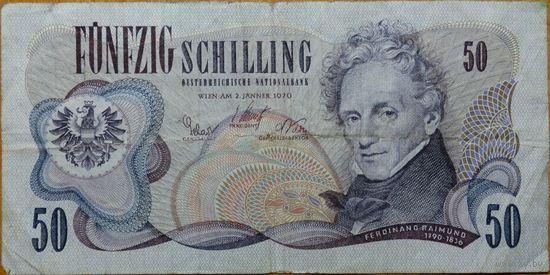 Австрия 50 крон 1970 года